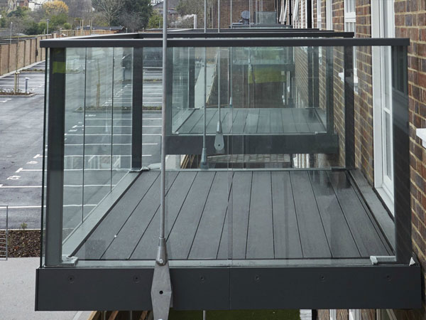 Composite Decking Fire Rated